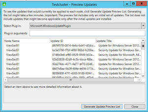 Microsoft 70-412 Certification Exam Blueprint Walkthrough Study Failover Cluster Manager Cluster aware updating