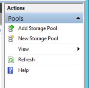 Microsoft 70-412 Certification Exam Blueprint Walkthrough Study Failover Cluster Manager Add storage pool