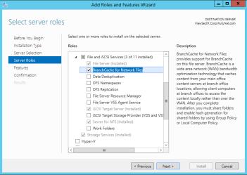 Microsoft 70-412 Certification Exam Blueprint Walkthrough - BranchCache